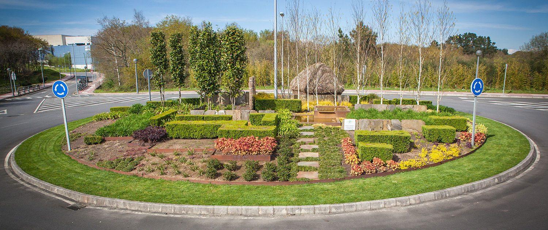 Diseño y ejecución de espacios verdes públicos | Xardín Senra