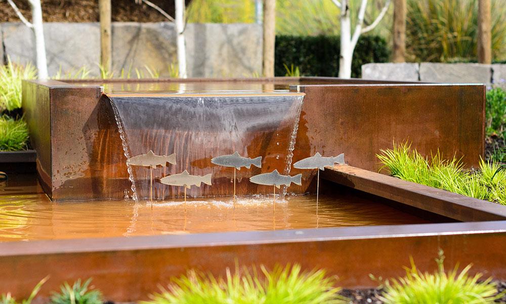 Dise o y ejecuci n de piscinas y estanques por xard n for Filtros para estanques de jardin